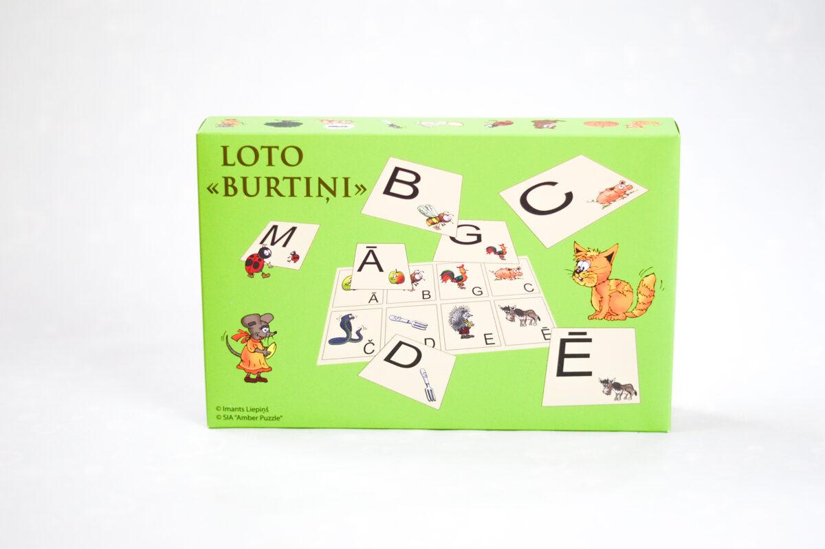 "Spēle ""Burtu Loto"""