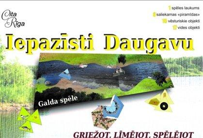 """Spēle """"Iepazīsti Daugavu!"""""""