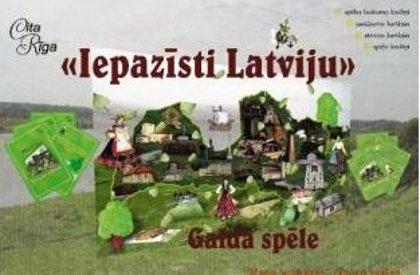 """Izzinoša spēle """"Iepazīsti Latviju!"""""""
