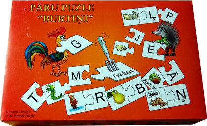 """Pāru puzle 'Burtiņi"""""""
